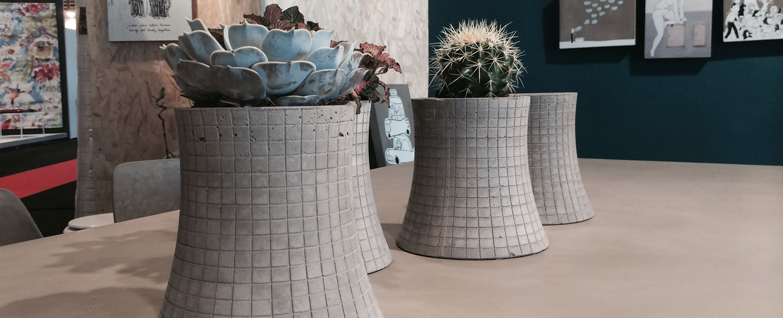 Concrete homeware