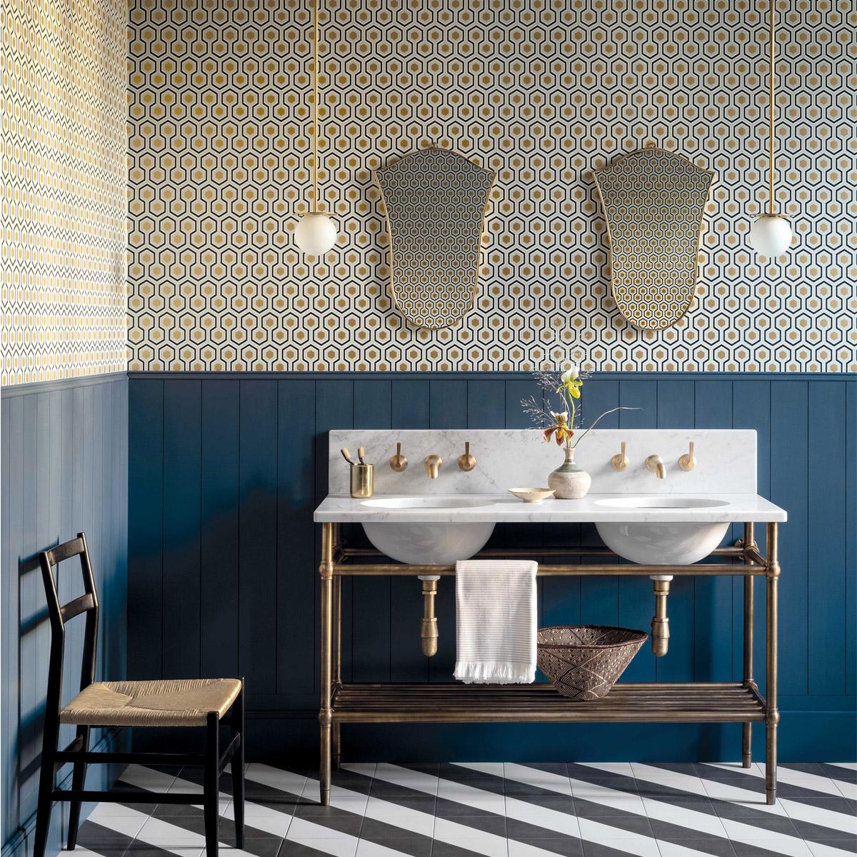 Using Wallpaper In Your Bathroom   Beut Blog