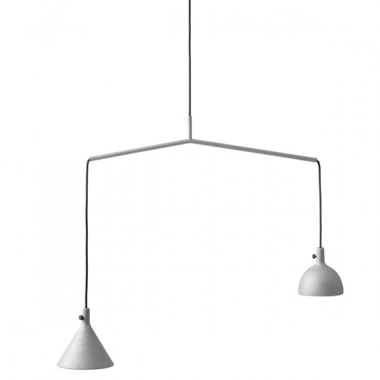 Menu Cast Pendants - Grey