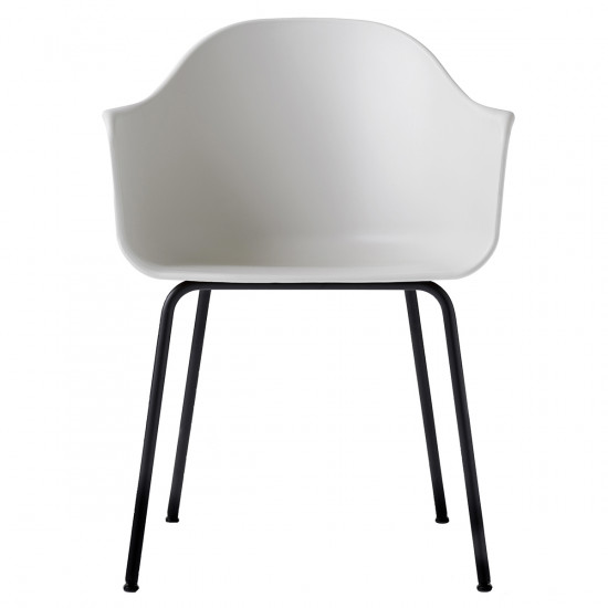 Menu Unupholstered Harbour Dining Chair - Steel Base