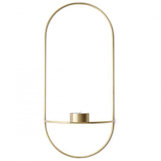 Menu POV Oval Tealight Candleholder