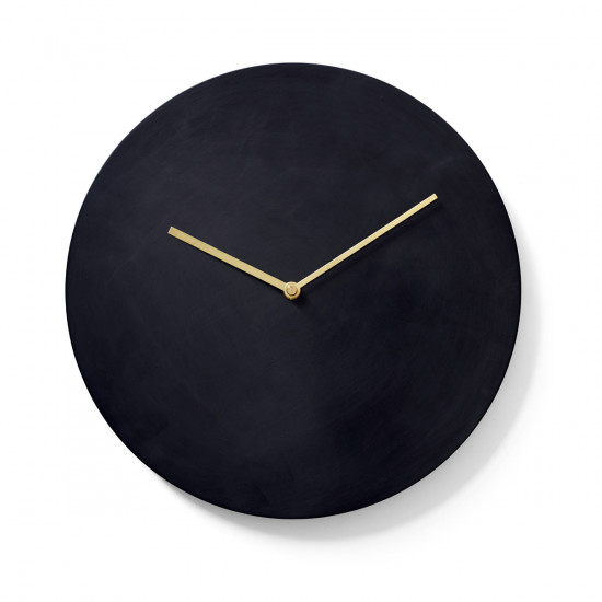 Menu Norm Wall Clock-Bronzed Brass