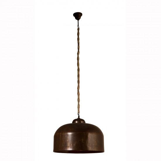 Dutchbone Besar Rust Patina Pendant Light