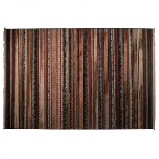 Zuiver Striped Nepal Rug - Dark
