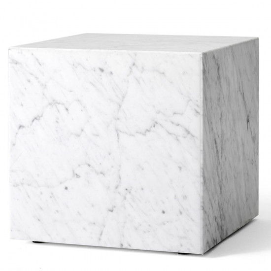 Menu Plinth Cubic Marble Table