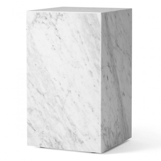 Menu Plinth Tall Marble Table