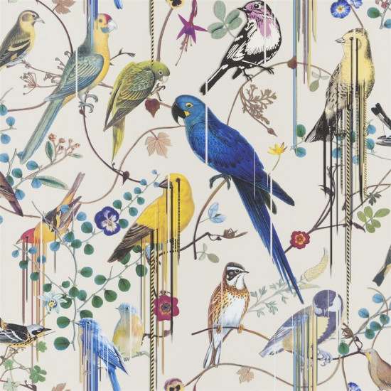 Christian Lacroix Birds Sinfonia Wallpaper
