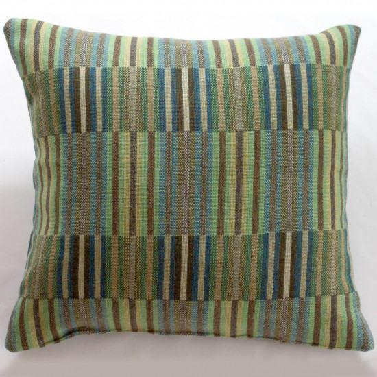 Chalk Wovens Reeds Cushion - Jade