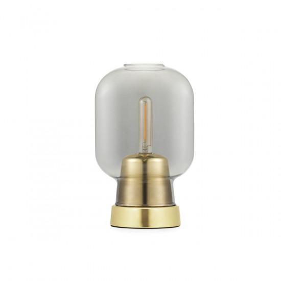 Normann Copenhagen Amp Table Lamp - Brass / Glass