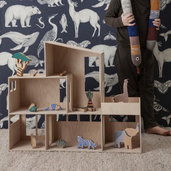 Ferm Living Katie Scott Wallpaper - Animals