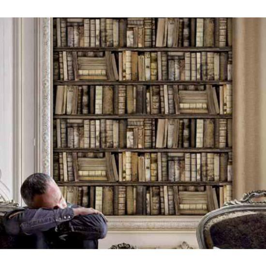 Antique Bibliotheque Books Wallpaper Antique Books