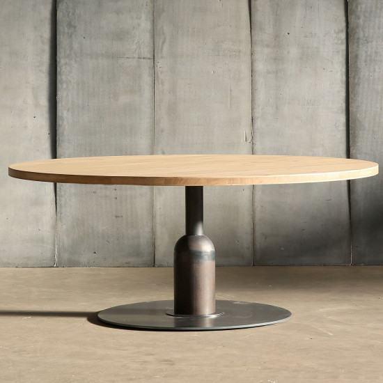 Heerenhuis Apollo Xxl Oak Cafe Table Mtm Beutcouk