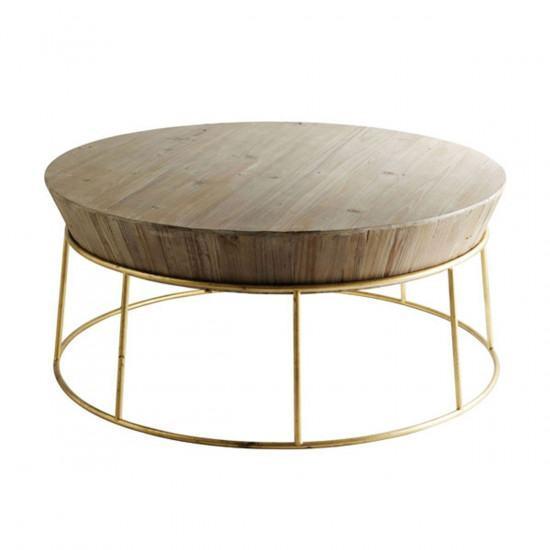 Wood St Martin Coffee Table: Fir Wood Coffee Table