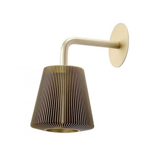 EOQ Aluminium Bramah Bedside Wall Lamp