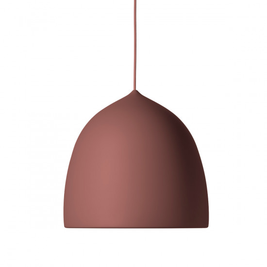 Fritz Hansen Suspence P1.5 Pendant Light -Powder Burgundy
