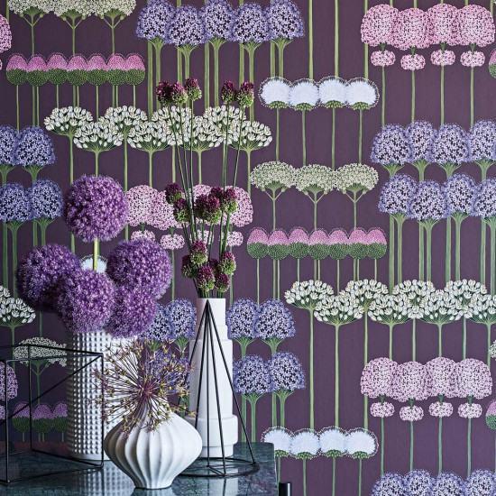 Cole and Son Allium Wallpaper - Botanicals