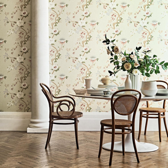 Cole and Son Camellia Wallpaper - Botanicals