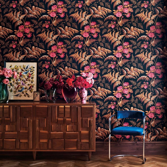 Cole and Son Rose Wallpaper - Botanicals