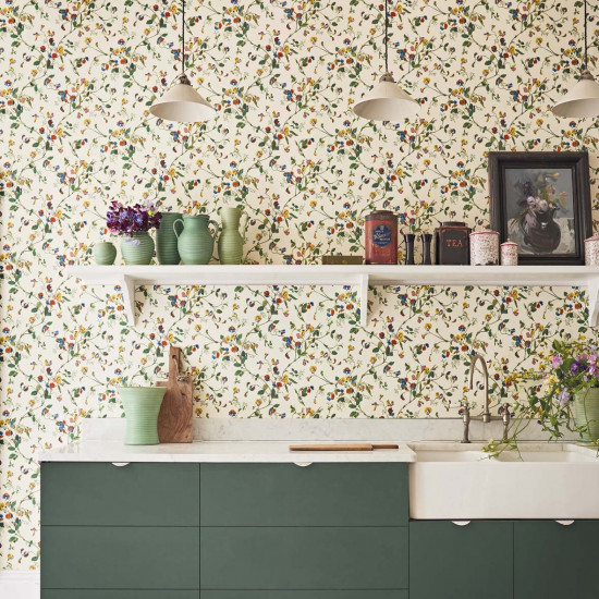 Cole and Son Sweet Pea Wallpaper - Botanicals