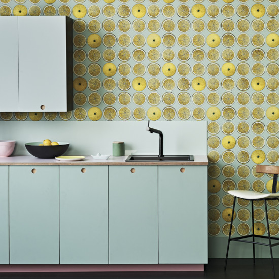 Cole and Son Arance Wallpaper - Fornasetti Senza Tempo