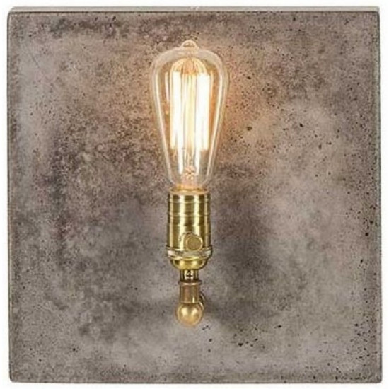 Andrew Martin Cameron Concrete Wall Light