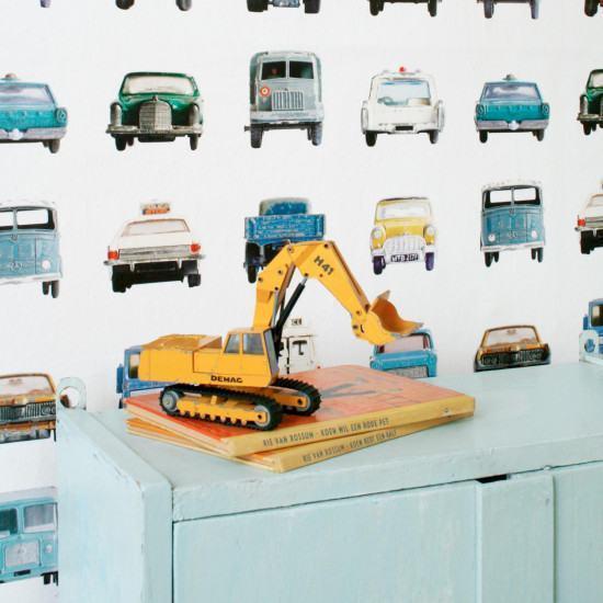 Studio Ditte Cars Wallpaper