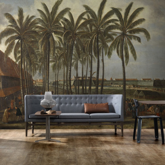 Castle Of Batavia Mural Wallpaper by Piet Hein Eek
