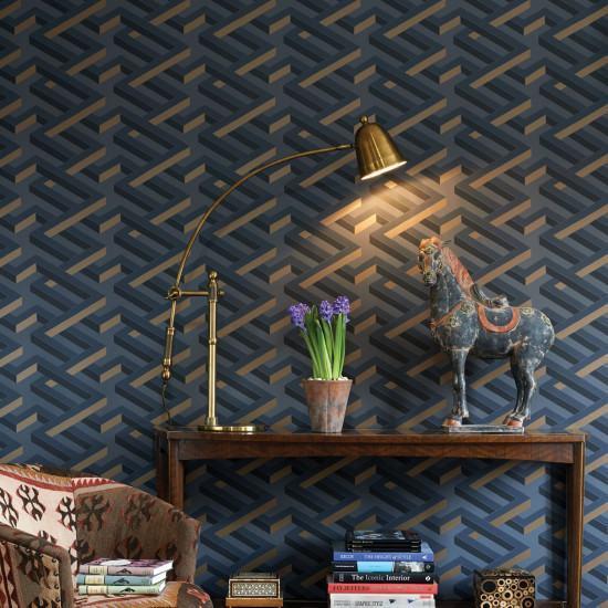 Cole and Son Luxor Wallpaper - Geometric ll