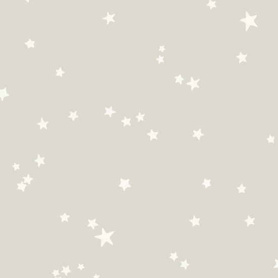 Cole and Son Stars Wallpaper - Grey and White (103/3012) 1 roll from a batch