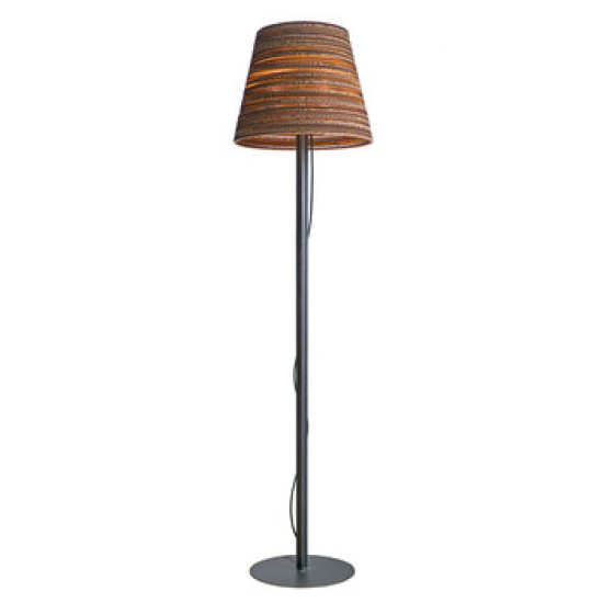 Graypants Scraplight Cone Floor Lamp