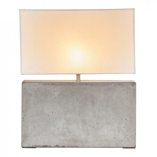 concrete table lamp. Andrew Martin Cameron Concrete Table Light Lamp U