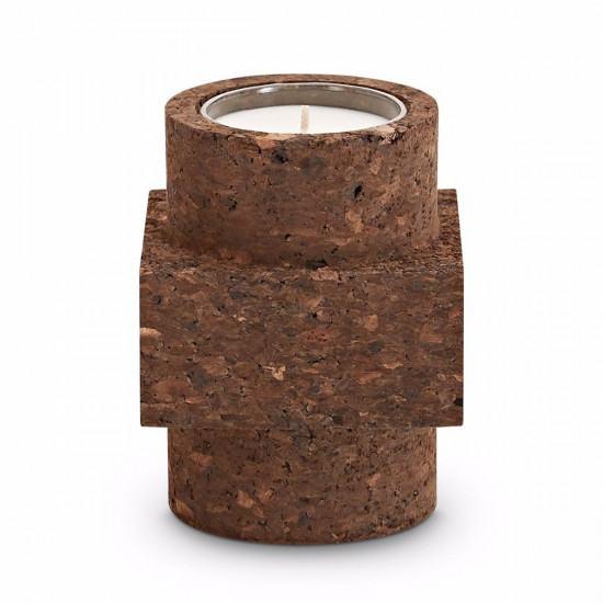 Tom Dixon Materialism Cork Candle - Medium