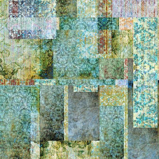 Blackpop Culcita Emerald Wallpaper