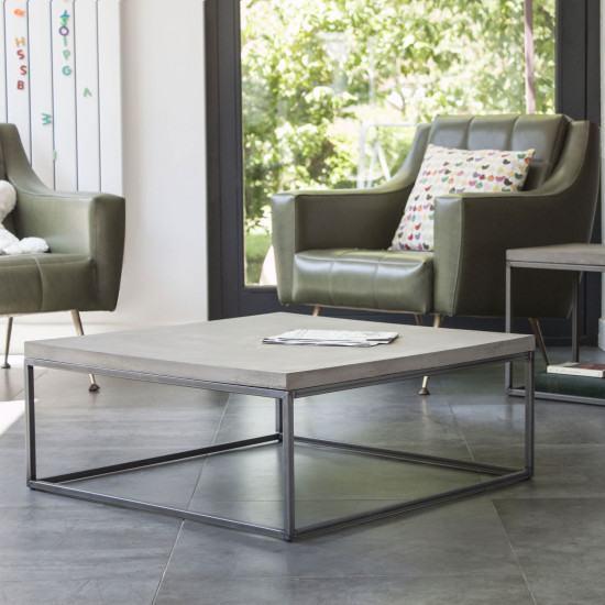 Lyon Beton Medium Perspective Concrete Coffee Table