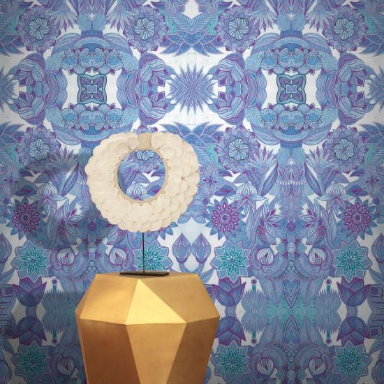 Feathr Fairy Garden Wallpaper By Karolina Cecot