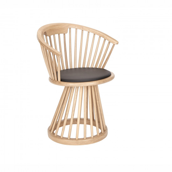 Tom Dixon Fan Dining Chair Natural Natural Fan Dining