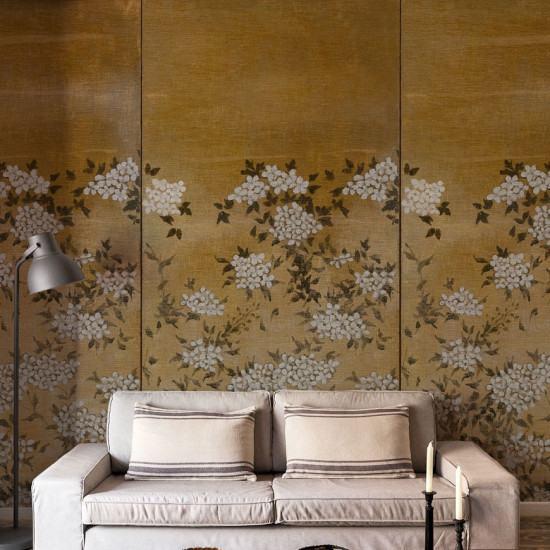 Coordonne Jute Flora Mural