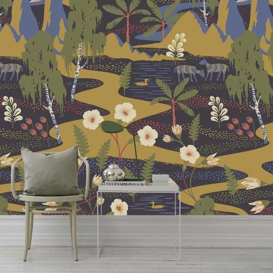Borastapeter Flyttfrö Wallpaper - Mural