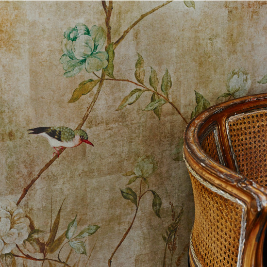 Sidney paul co chinoiserie mural