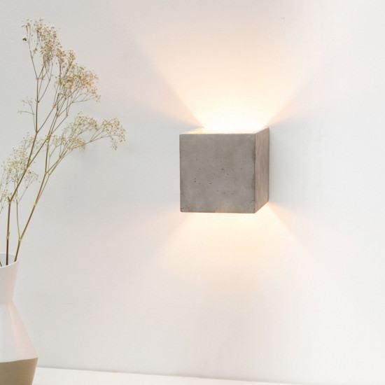 GANTlights B3 Wall Concrete Sconce Light