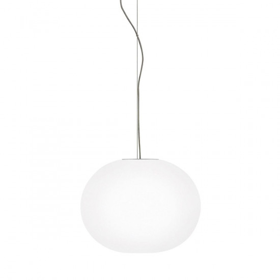 Flos Glo-Ball S1 Suspension Light: (H: 270mm x Ø of ball: 330mm, 2.7kg)