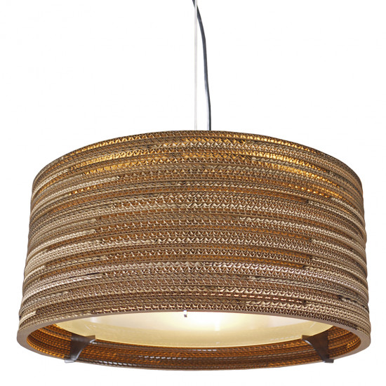 Graypants Drum Pendant Lamp 24 inch