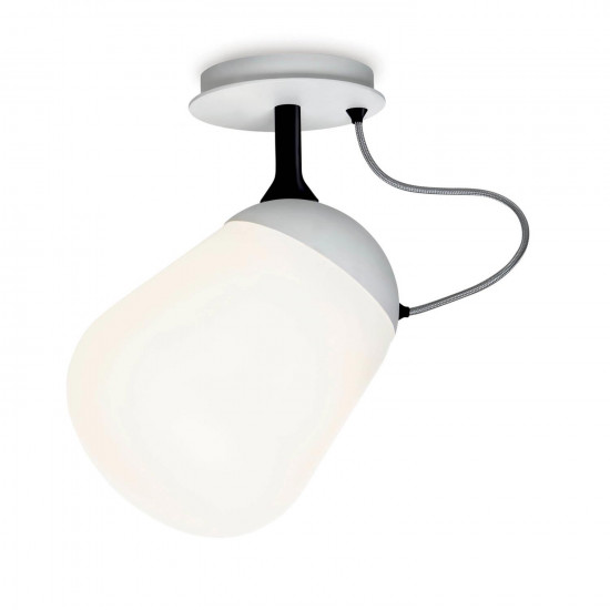 Vertigo Bird Hippo Ceiling/Wall Lamp - White