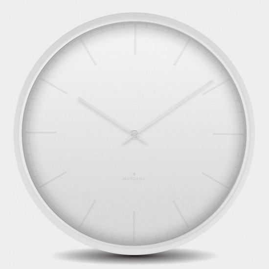 Huygens Tone Wall Clock -White