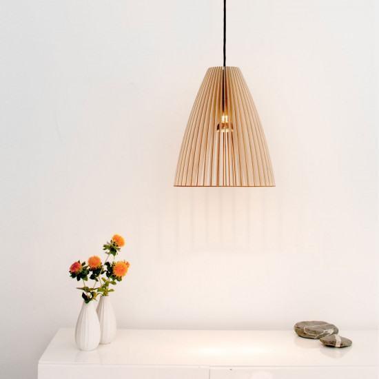 Iumi Teia Wood Pendant Light