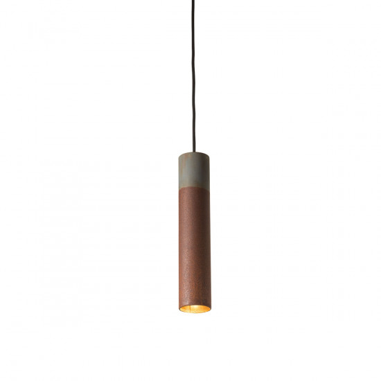 Karven Roest Vertical 30 Zinc Pendant Light