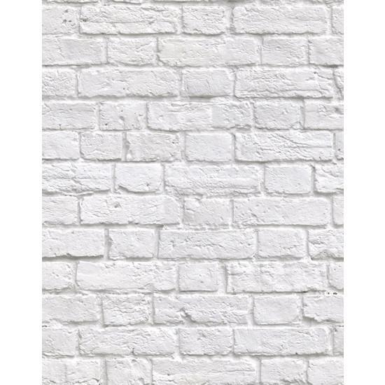 Kemra Boutique Wallpapers Soft White Bricks Wallpaper