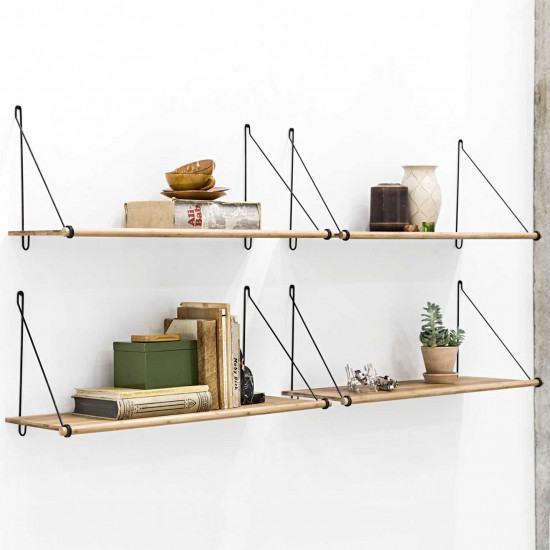 We Do Wood Loop Bamboo Shelf   We Do Wood Furniture   beut.co.uk