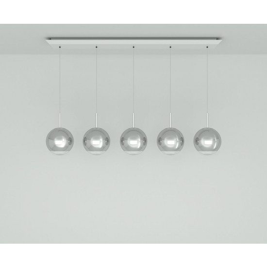 Tom Dixon Mirror Ball 25cm Linear Pendant System
