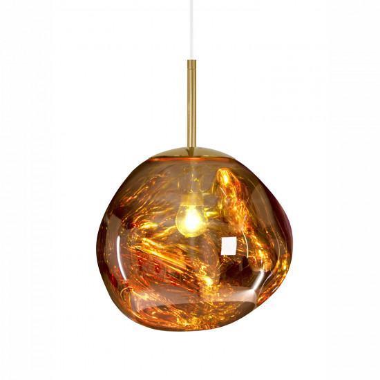 Tom Dixon Mini Melt Pendant Light - Gold
